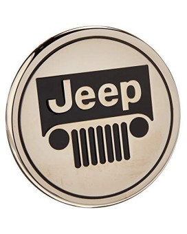 Auto Gold Tjeec Chrome Trailer Hitch Plug, Jeep