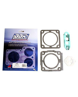 BBK 1573 75mm Throttle Body Gasket Kit for Ford 5.0L