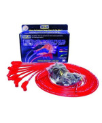 Taylor Cable 70253 8mm Pro Wire Red Spark Plug Wire Set