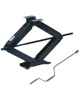 BAL R.V. Products Group 24002D  Deluxe Leveling Scissor Jack - 24-Inch (With Set of (2) 20037 crank handle with swivel head)