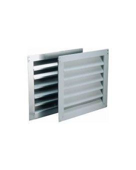 "Wall Louver 12""X12""White"