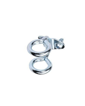 Triton Products 74212 DuraHook 1-7/8-Inch Double Ring 3/4-Inch I.D. Zinc Plated Steel Tool Holder for DuraBoard or 1/8 Inch and 1/4 Inch Pegboard, 10-Pack