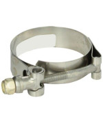 "Trident Marine 720-1340 Stainless Steel T-Bolt Hose Clamps, 3/4"", Range 2.03"" to 2.34"""