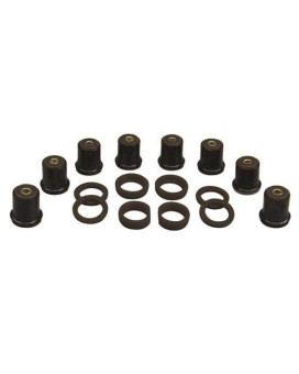 Prothane 7-225-BL Black Rear Control Arm Bushing Kit with Shells