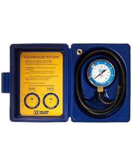 Yellow Jacket 78060 Complete Test Kit, 0-35 W.C