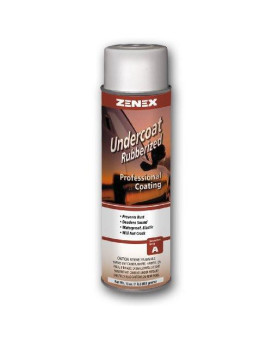 Zenex Undercoat Premium Rubberized Undercoating - 12 Cans (Case)