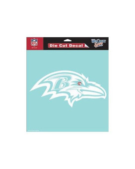 "Wincraft Nfl Baltimore Ravens Wcr25668061 Perfect Cut Decals, 8"" X 8"""