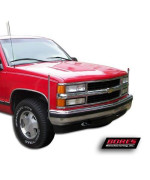 Bores Guide 724110 Stainless Steel Bumper Guide For Chevy/Gmc And Ford