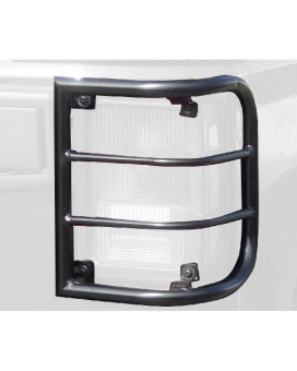Steelcraft 32200 Black Tail Light Guard For Jeep Wrangler