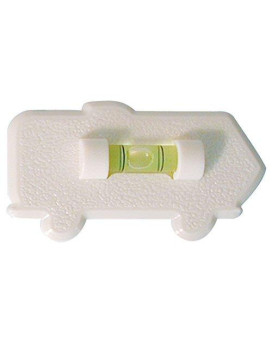 Prime Products 28-0121 White Stick On Motorhome Level