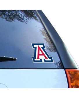 "Wincraft Ncaa University Of Arizona Multi-Use Colored Decal, 5"" X 6"""