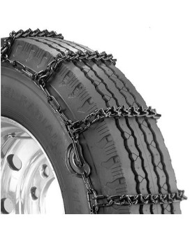 Security Chain Company Qg2845Cam Quik Grip V-Bar Truck Single Cam Rs Tire Traction Chain - Set Of 2