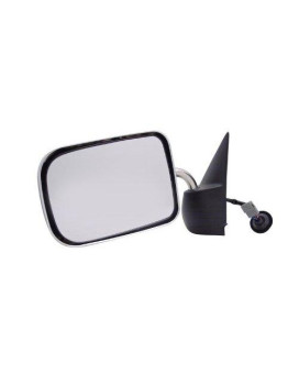 Pilot DG9209410-0L00 Dodge Ram Pickup Black Power Non Heated Replacement Driver Side Mirror