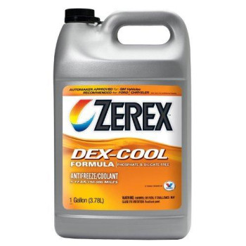 Zerex DEX-COOL Antifreeze/Coolant, Concentrated - 1gal (ZXEL1)