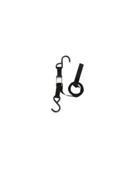 Cambuckle Tie Down With S Hooks 1In X 12Ft