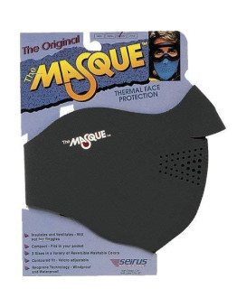 The Masque Thermal Face Protection , Color: Black, Size: Lg 6805.0.0014