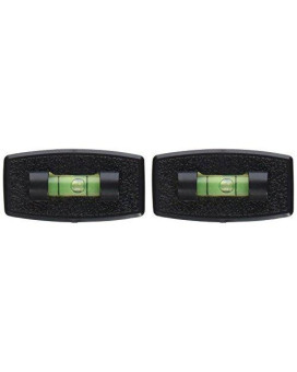 Prime Products 28-0114 Black Small Stick-On Level, (Pack of 2)