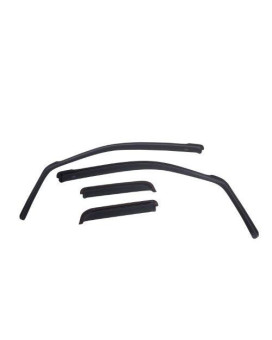EGR 572751 Smoke In-Channel Window Visor for Dodge Ram 2500 2010-4 Piece