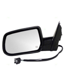 TYC 1570042 Chevrolet Equinox Driver Side Power Heated Replacement Mirror