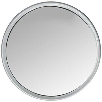 "Velvac 709218 10"" Stainless Steel Wide View Convex Mirror"
