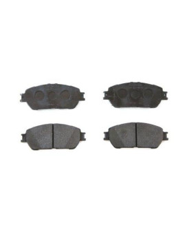 Toyota Genuine Parts 04465-08030 Front Brake Pad Set