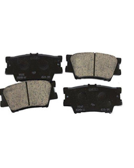 Toyota Genuine Parts 446606090 Rear Brake Pad Set