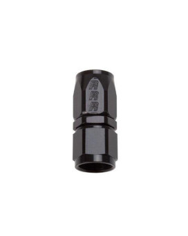 Russell 610025 Black 6-AN Full Flow Hose End