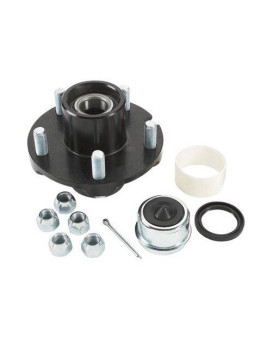 Ultra-Tow Ultra Pack Trailer Hub - 5 on 4 1/2in. 1350 lb. Capacity
