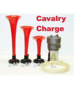 A.P. Cavalry Charge Musical Air Horn Kit Easy Install-Tons Of Fun Calvary