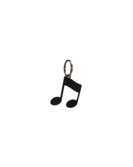 Village Wrought Iron KC-134 Music Note Key Chain Powder Metal Coated