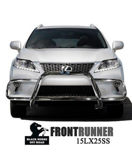 Black Horse Off Road 15LX25SS Stainless Steel Front Runners