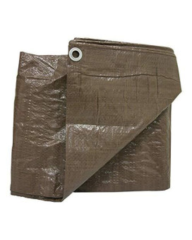 Weathermaster Bt2020 Brown Poly Tarpaulin