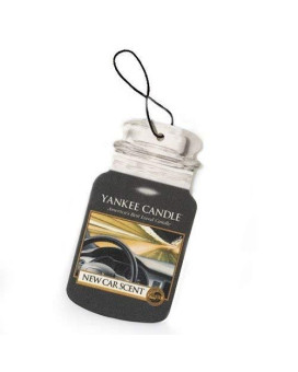 Yankee Candle New Car Scent Car Jar Air Freshener
