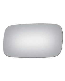 99-02 Saab 9-3 Flat Left Driver Replacement Mirror Glass Lens