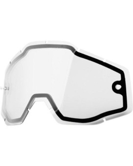 100% Goggle Replacement Lens Racecraft/Accuri Clear Dual