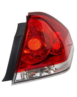Passengers Taillight Tail Lamp Replacement For Chevrolet 25971598