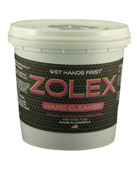Zolex 1.5lb Tub Water-Activated Hand Cleaner, Stain Remover, Non-Toxic, Petroleum-Free | Workman-Sized