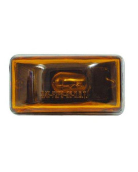 SEALED STUD CLEARANCE LIGHT AMBER, Manufacturer: OPTRONICS, Manufacturer Part Number: MC-95AS-AD, Stock Photo - Actual parts may vary.