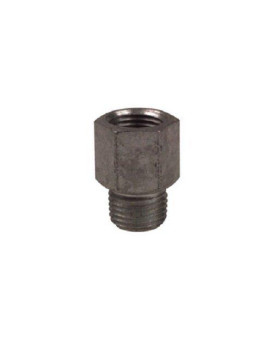 """Alemite 43761 Fitting Extension, OAL 3/4"""", 1/8"""" Female NPTF x 1/8"""" Male NPTF, 1/2"""" Hex Size"""