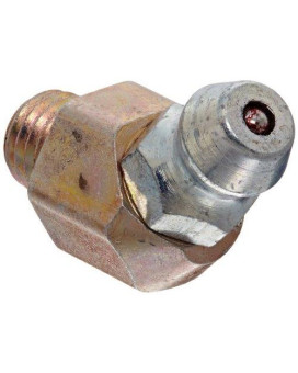 """Alemite 3053-B Thread Forming Fitting, 45 Degrees, 1/4"""" Special Taper"""