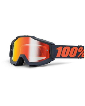 100% 50210-025-02 unisex-adult Goggle (Gunmetal,Mirror Red,One Size) (ACCURI ACC Gray Multi-layer Mirror Lens/Red)