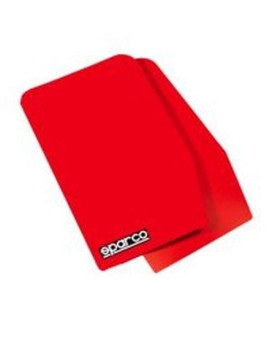 Sparco 03791Rs Red Universal Mud Flap