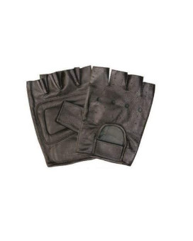 Unisex Adult AL3001 Fingerless glove X-Small Black