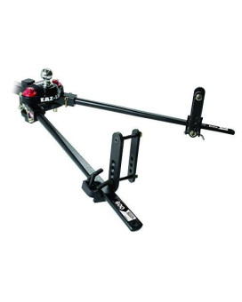 Eaz-Lift 48701 Trekker Weight Distributing Hitch with Adaptive Sway Control - 600 lb. Weight Rating