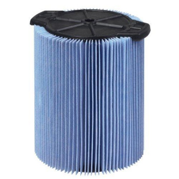 WORKSHOP Wet Dry Vac Filter WS22200F Fine Dust Wet Dry Vacuum Filter (Single Shop Vacuum Cleaner Filter Cartridge) For WORKSHOP 5-Gallon To 16-Gallon Shop Vacuum Cleaners