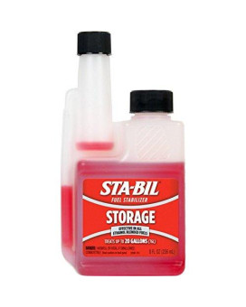 Sta-Bil Fuel Stabilizer 8 Oz. Protects Engine From Gum , Varnish , Rust , Corrosion