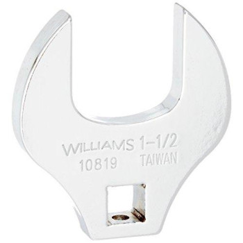 Williams 10819 1/2-Inch Open End Drive Crowfoot Wrench, 1-1/2-Inch