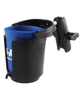 RAM Mounts (RAP-B-132B-201U) Drink Cup Holder with Arm