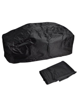Yescom 420D Oxford Winch Dust Cover Water and UV Resistances for 5000 - 13000 lbs Black