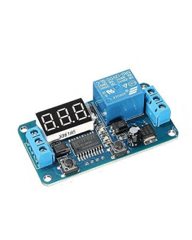 Beautyforall DC 12V LED Display Digital Delay Timer Control Switch Module PLC